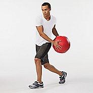 Mens Road Runner Sports Back To Basic V-Neck Short Sleeve Technical Tops