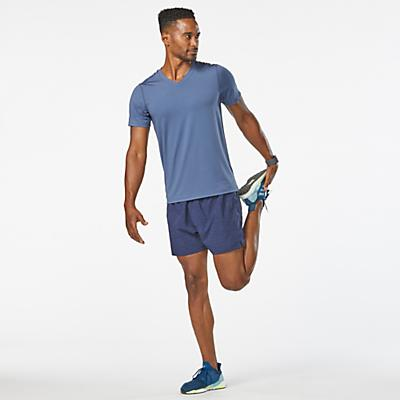 Mens Road Runner Sports All Day V-Neck Short Sleeve Technical Tops
