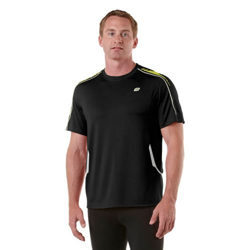 Mens R-Gear Speedster Short Sleeve Short Sleeve Technical Tops - Black/Electrolyte XXL