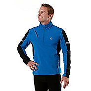 Mens R-Gear Night Watch Long Sleeve 1/2 Zip Technical Tops