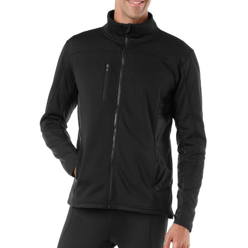 Mens R-Gear Explorer Fleece Outerwear Jackets - Black XXL