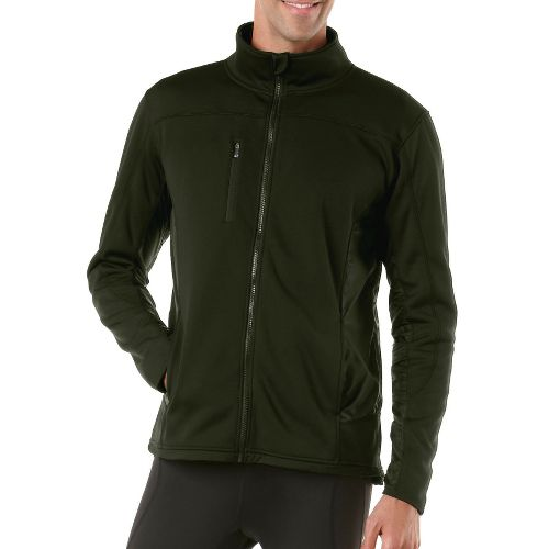 Mens R-Gear Explorer Fleece Outerwear Jackets - Pine Needle XXL