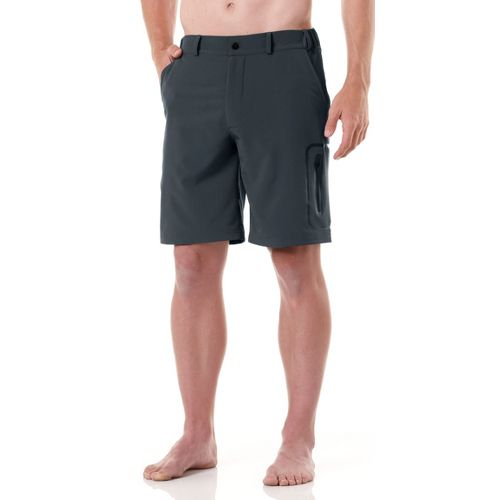 Mens R-Gear Off the Grid Unlined Shorts - Gunmetal M