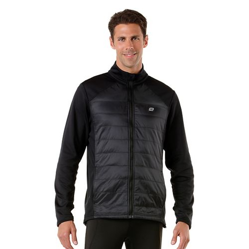 Mens R-Gear Out Cold Quilted Outerwear Jackets - Black L