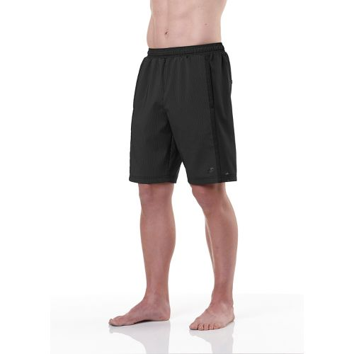 Mens R-Gear Shadow Stripe 2-in-1 Shorts - Black S