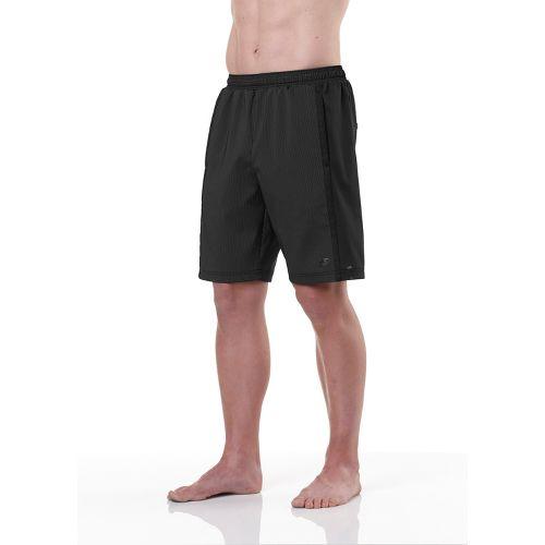 Mens R-Gear Shadow Stripe 2-in-1 Shorts - Black S