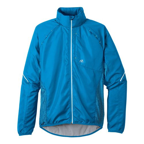 Mens R-Gear Vent It Out Running Jackets - Atomic Blue/Cinder XXL