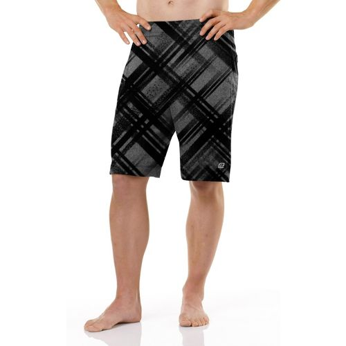Mens R-Gear Kick Back Unlined Shorts - Charcoal M