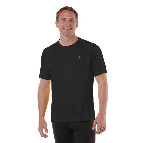 Mens R-Gear Peak Satisfaction Short Sleeve Technical Tops - Black L