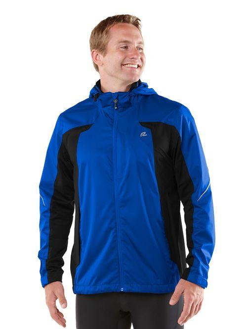Mens R-Gear On Guard Rain Outerwear Jackets - Cobalt S