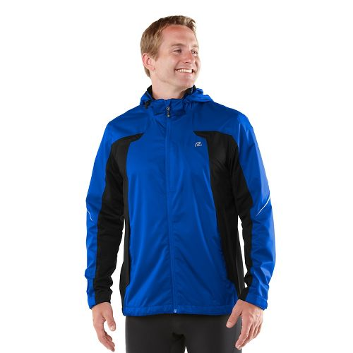 Mens R-Gear On Guard Rain Outerwear Jackets - Cobalt M