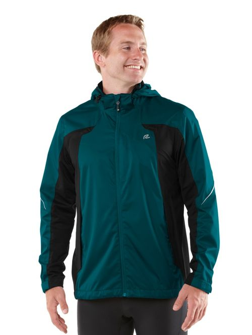 Mens R-Gear On Guard Rain Outerwear Jackets - Deep Teal S