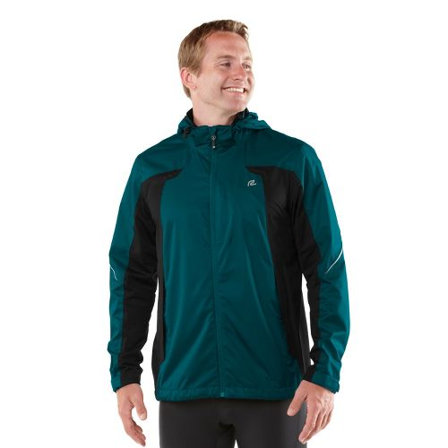 Mens R-Gear On Guard Rain Outerwear Jackets - Deep Teal M