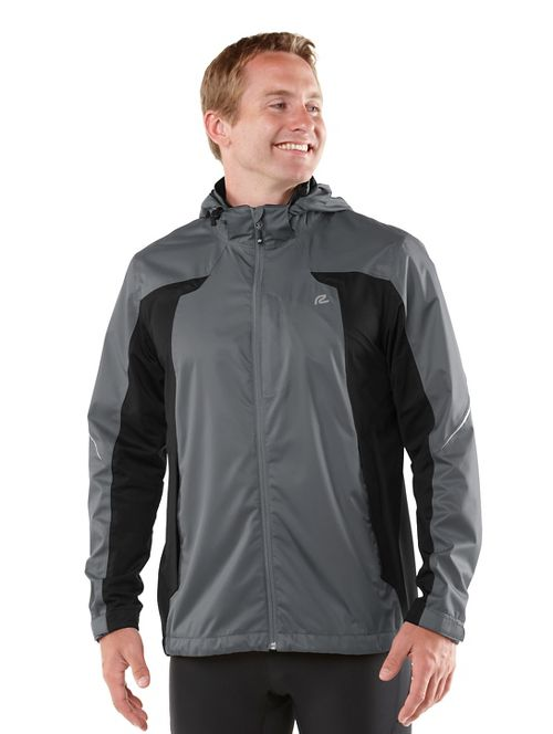Mens R-Gear On Guard Rain Outerwear Jackets - Steel S
