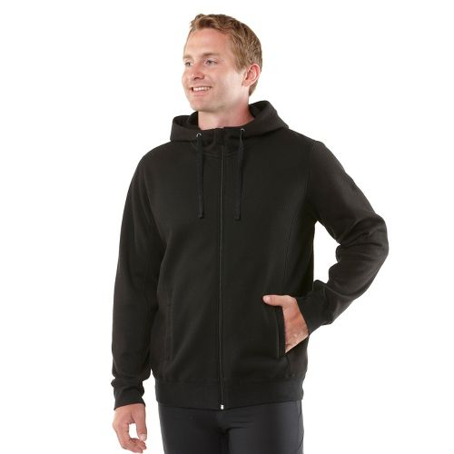 Mens R-Gear All Squared Up Hoodie Warm-Up Hooded Jackets - Heather Charcoal/Cobalt L