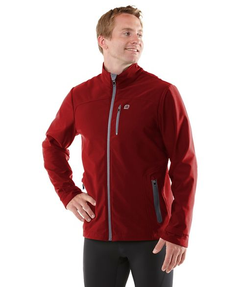 Mens R-Gear Storm Ahead Outerwear Jackets - Vintage Red XL
