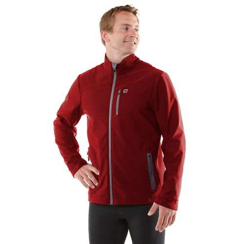 Mens R-Gear Storm Ahead Outerwear Jackets - Vintage Red L