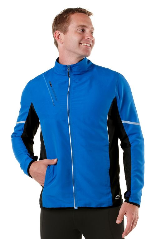 Mens R-Gear Night Watch Outerwear Jackets - Electric Blue/Black XXL