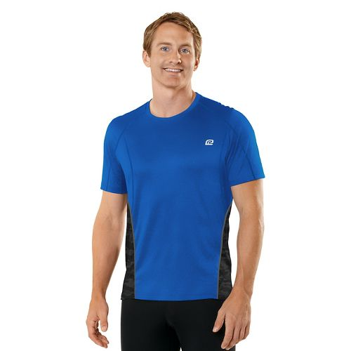 Mens R-Gear Switch It Up Short Sleeve Technical Tops - Cobalt L
