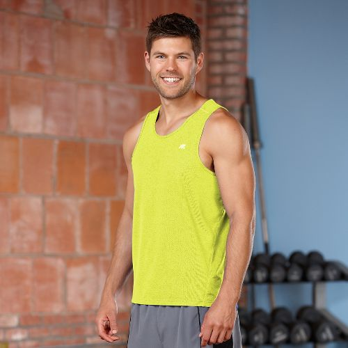 Mens R-Gear Runner's High Singlet Tanks Technical Top - Steel S