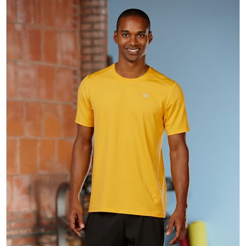 Mens R-Gear Runner's High Short Sleeve Technical Top - Varsity Gold L