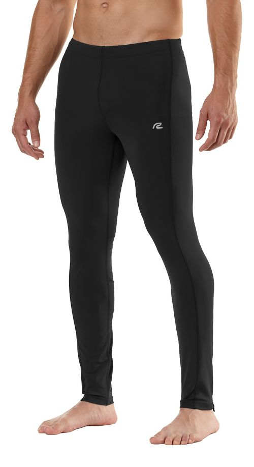 Mens Road Runner Sports SpeedPro Compression Fitted Tights - Black XL