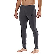 Mens Road Runner Sports SpeedPro Compression Fitted Tights - Charcoal XLT