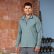 Mens Road Runner Sports Reaction Long Sleeve 1/2 Zip Technical Tops