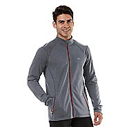 Mens R-Gear Latitude Outerwear Jackets - Heather Charcoal/Hotrod Red L