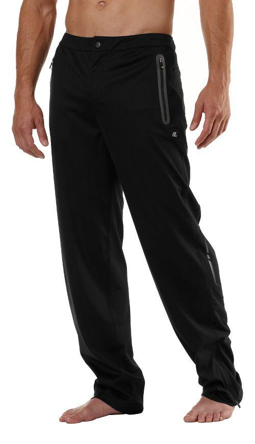 Mens Road Runner Sports Second Wind Full Length Pants - Black S