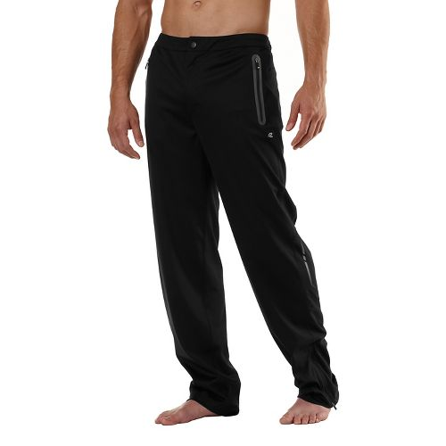 Mens Road Runner Sports Second Wind Full Length Pants - Black M