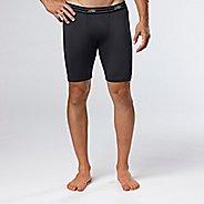 Mens Road Runner Sports DURAstrength Everyday Boxer Brief 2 pack Underwear Bottoms - Black S