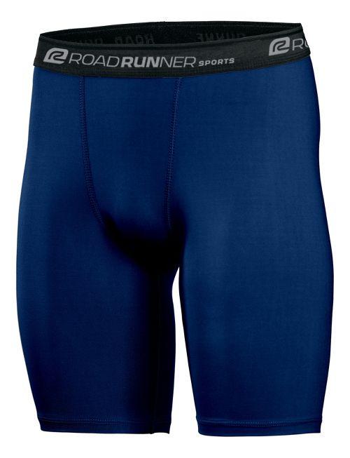 Mens Road Runner Sports DURAstrength Everyday Boxer Brief 2 pack Underwear Bottoms - Midnight ...