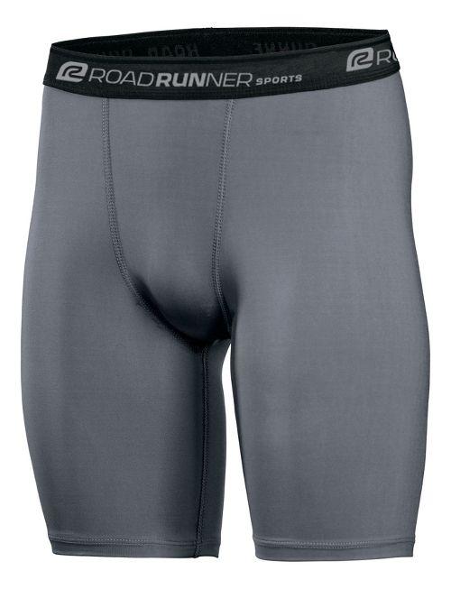 Mens Road Runner Sports DURAstrength Everyday Boxer Brief 2 pack Underwear Bottoms - Steel XXL