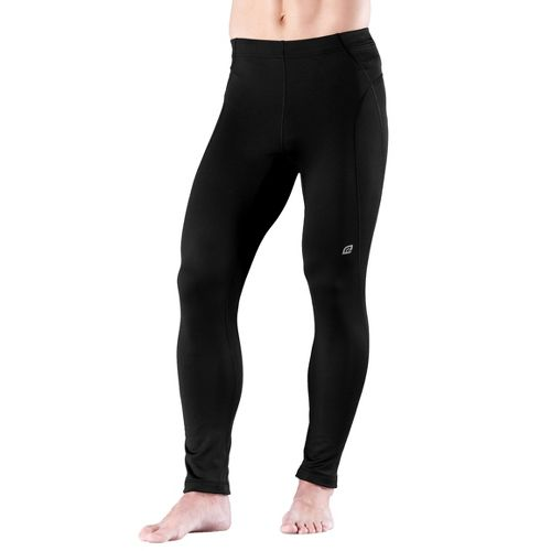 Mens Road Runner Sports Warmer Performer Fitted Tight - Black S