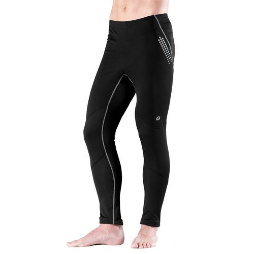 Mens Road Runner Sports Second Wind-Front Fitted Tight - Black S