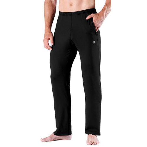 Mens Road Runner Sports Cruisin' Comfort Full Length Pants - Black L