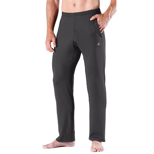 Mens Road Runner Sports Cruisin' Comfort Full Length Pants - Steel L