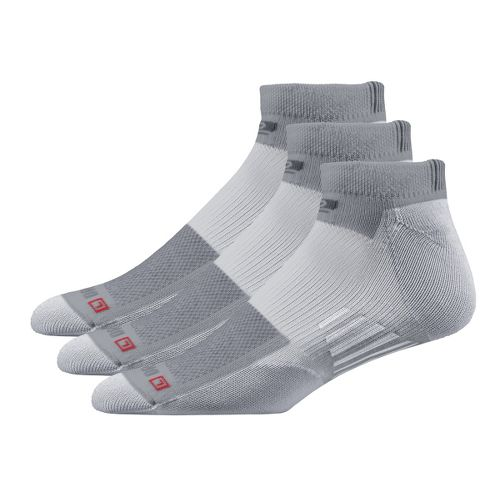 Road Runner Sports Drymax Dry-As-A-Bone Thin Cushion Low 3 pack Socks - Grey XL