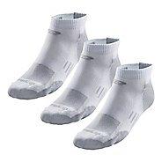 Road Runner Sports Drymax Dry-As-A-Bone Thin Cushion Low 3 pack Socks - White L