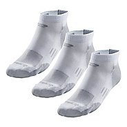 Road Runner Sports Drymax Dry-As-A-Bone Thin Cushion Low 3 pack Socks - White XL