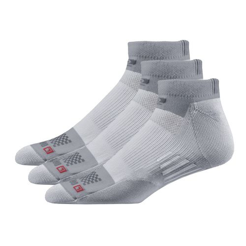 Road Runner Sports Drymax Dry-As-A-Bone Medium Cushion Low 3 pack Socks - Grey M