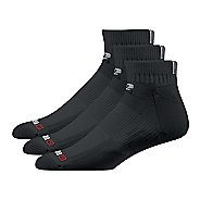 Road Runner Sports Drymax Dry-As-A-Bone Thin Cushion Quarter 3 pack Socks