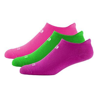 Womens R-Gear Dryroad Flash Dance Medium Cushion No Show Tab 3 pack Socks