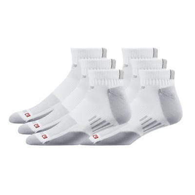 Road Runner Sports Drymax Dry-As-A-Bone Thin Cushion Quarter 6 pack Socks