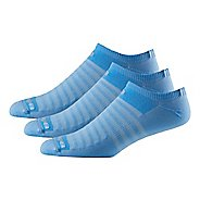 R-Gear Drymax Light & Quick Thinnest No Show 3 pack Socks - Sky Blue S