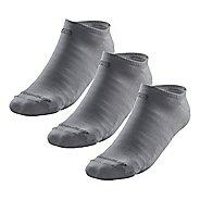 R-Gear Drymax Light & Quick Thinnest No Show 3 pack Socks - Grey S
