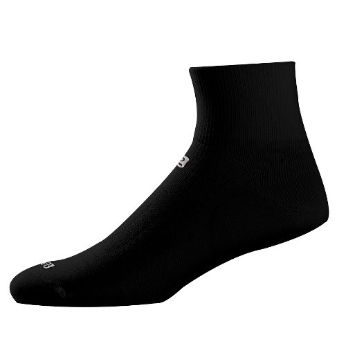 Road Runner Sports Dryroad Simple & Speedy Thin Quarter 3 pack Socks - Black L ...