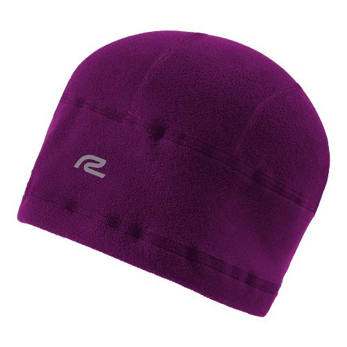 Road Runner Sports Warm Your Noggin' Beanie Headwear - Mulberry Madness L/XL