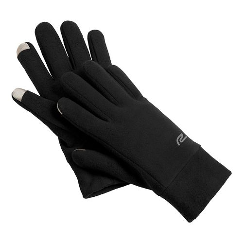 Road Runner Sports Blizzard Blocker Fleece Gloves Handwear - Black L/XL